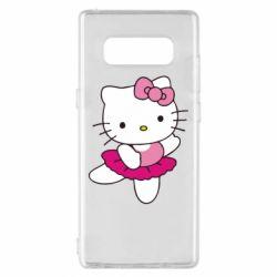Чехол для Samsung Note 8 Kitty балярина