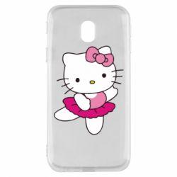 Чехол для Samsung J3 2017 Kitty балярина