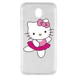 Чехол для Samsung J7 2017 Kitty балярина