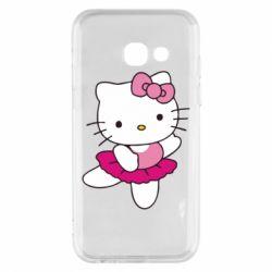 Чехол для Samsung A3 2017 Kitty балярина