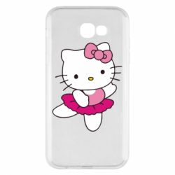 Чехол для Samsung A7 2017 Kitty балярина