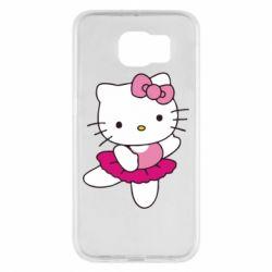 Чехол для Samsung S6 Kitty балярина