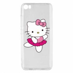 Чехол для Xiaomi Mi5/Mi5 Pro Kitty балярина