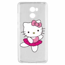 Чехол для Xiaomi Redmi 4 Kitty балярина