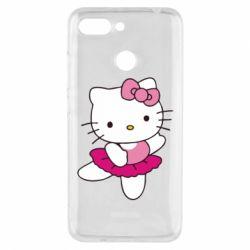 Чехол для Xiaomi Redmi 6 Kitty балярина