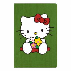 Блокнот А5 Kitty с букетиком