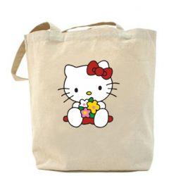 Сумка Kitty с букетиком - FatLine