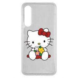 Чехол для Xiaomi Mi9 SE Kitty с букетиком