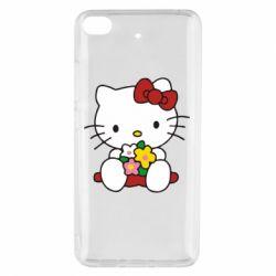 Чехол для Xiaomi Mi 5s Kitty с букетиком