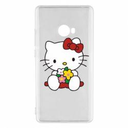 Чехол для Xiaomi Mi Note 2 Kitty с букетиком