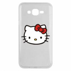 Чехол для Samsung J7 2015 Kitty