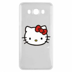 Чехол для Samsung J7 2016 Kitty