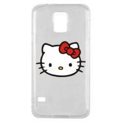 Чехол для Samsung S5 Kitty