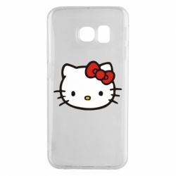 Чехол для Samsung S6 EDGE Kitty