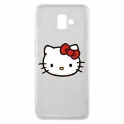 Чехол для Samsung J6 Plus 2018 Kitty