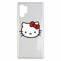 Чехол для Samsung Note 10 Plus Kitty
