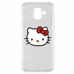 Чехол для Samsung A6 2018 Kitty