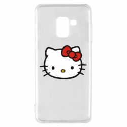 Чехол для Samsung A8 2018 Kitty