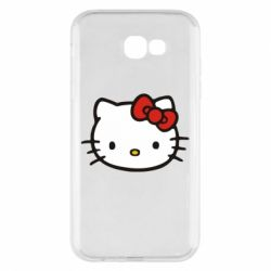 Чехол для Samsung A7 2017 Kitty