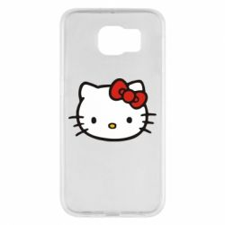 Чехол для Samsung S6 Kitty