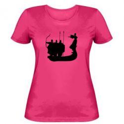 Женская футболка Кий,Щек,Хорив - FatLine