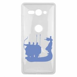 Чехол для Sony Xperia XZ2 Compact Кий,Щек,Хорив - FatLine