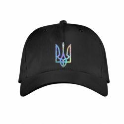 Детская кепка Класичний герб України голограмма