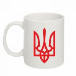 Кружка 320ml Класичний герб України