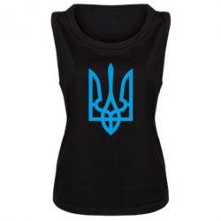 Женская майка Класичний герб України - FatLine