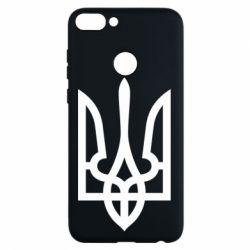 Чехол для Huawei P Smart Класичний герб України - FatLine