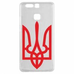 Чехол для Huawei P9 Класичний герб України - FatLine