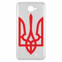 Чехол для Huawei Y7 2017 Класичний герб України - FatLine