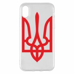 Чехол для iPhone X/Xs Класичний герб України