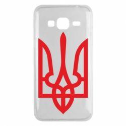 Чехол для Samsung J3 2016 Класичний герб України