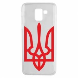 Чехол для Samsung J6 Класичний герб України