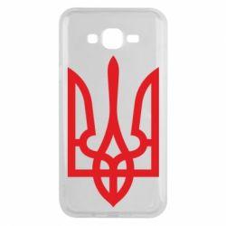 Чохол для Samsung J7 2015 Класичний герб України