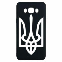 Чохол для Samsung J7 2016 Класичний герб України
