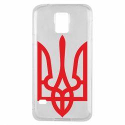 Чохол для Samsung S5 Класичний герб України