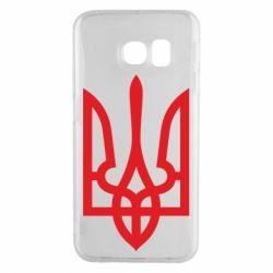 Чехол для Samsung S6 EDGE Класичний герб України