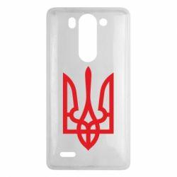 Чехол для LG G3 mini/G3s Класичний герб України - FatLine