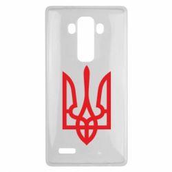 Чехол для LG G4 Класичний герб України - FatLine