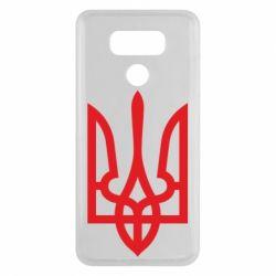 Чехол для LG G6 Класичний герб України - FatLine