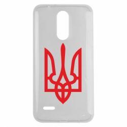 Чехол для LG K7 2017 Класичний герб України - FatLine