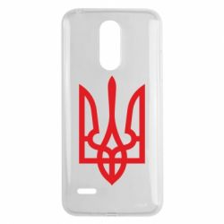 Чехол для LG K8 2017 Класичний герб України - FatLine