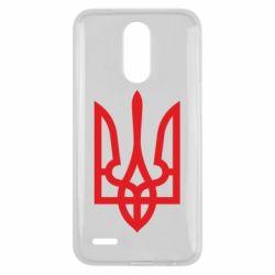 Чехол для LG K10 2017 Класичний герб України - FatLine