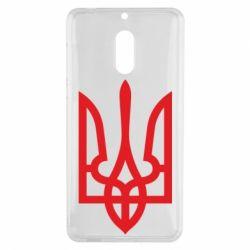 Чехол для Nokia 6 Класичний герб України - FatLine