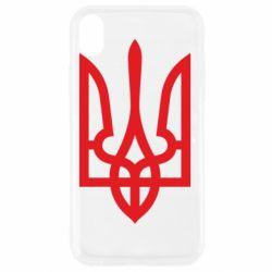 Чехол для iPhone XR Класичний герб України