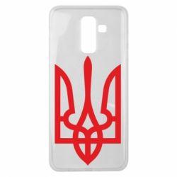 Чохол для Samsung J8 2018 Класичний герб України