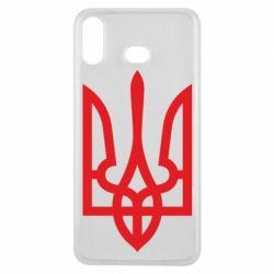 Чехол для Samsung A6s Класичний герб України