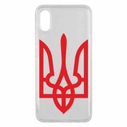 Чехол для Xiaomi Mi8 Pro Класичний герб України - FatLine